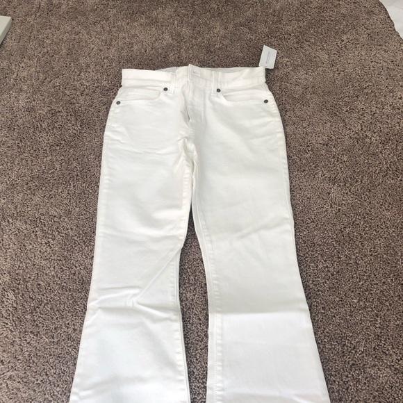 Banana Republic Denim - White Banana Republic Flare Jeans Size 25